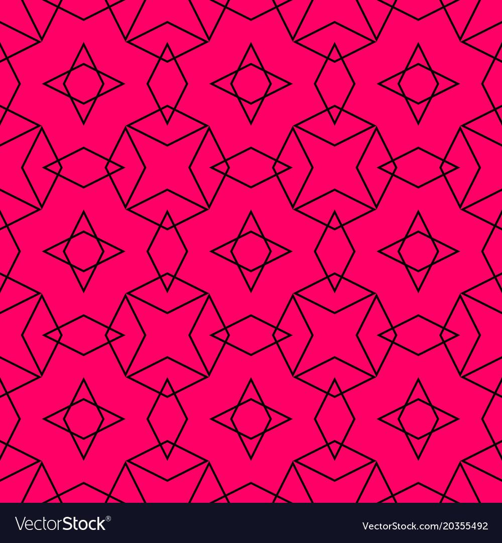 Tile pattern or pink and black background
