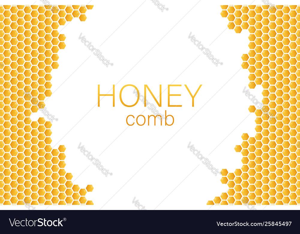 Honeycomb monochrome honey pattern stock
