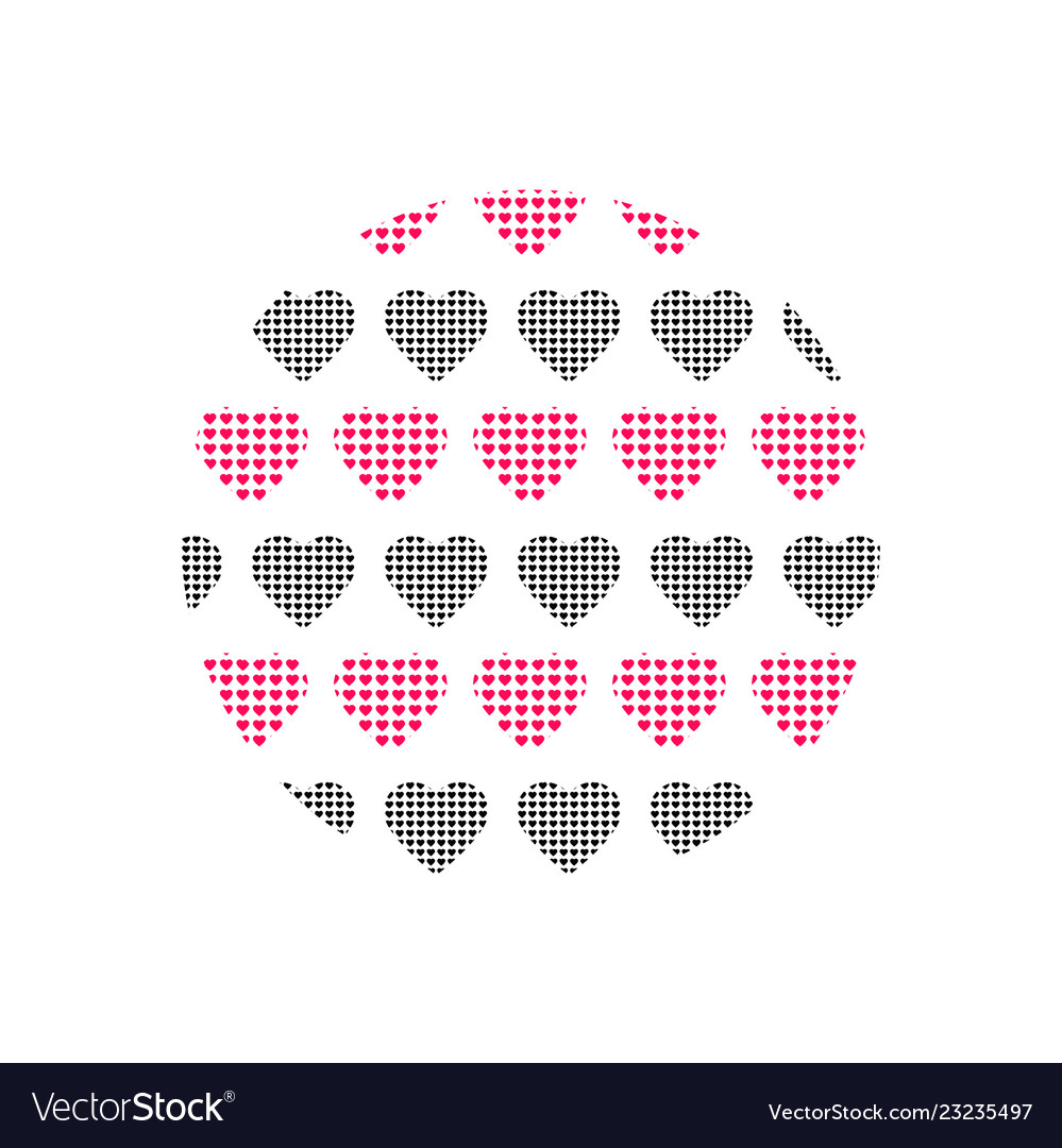 Love heart logo background love heart logo