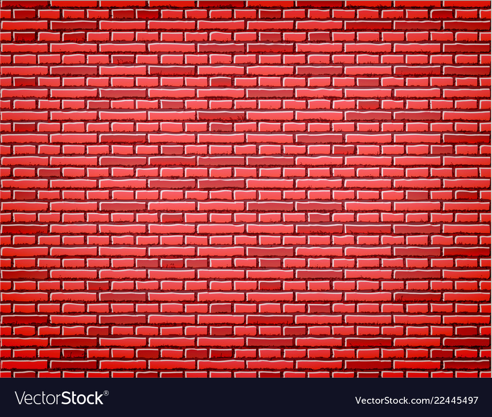 Red brick wall texture background design
