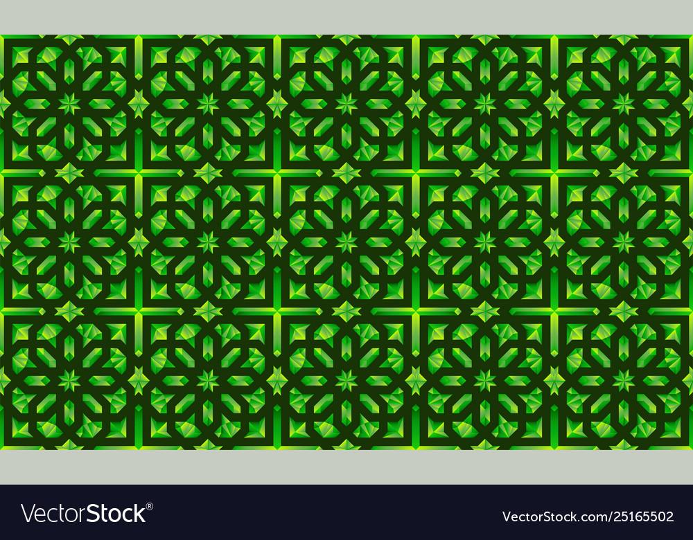 Neoclassic seamless oriental pattern islamic