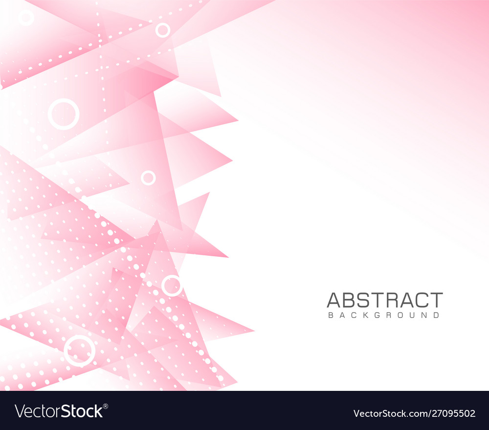 Pink abstract modern background