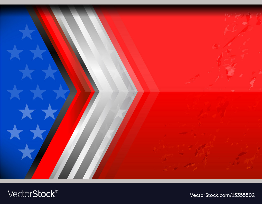 Usa flag backgrounds design vector image