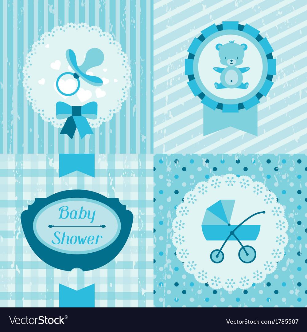 Boy Baby Shower Invitation Cards