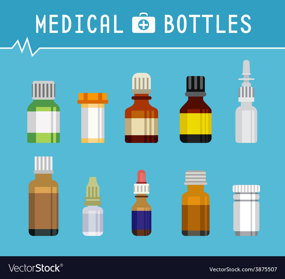 Cool Various Medication Bottles for Medical