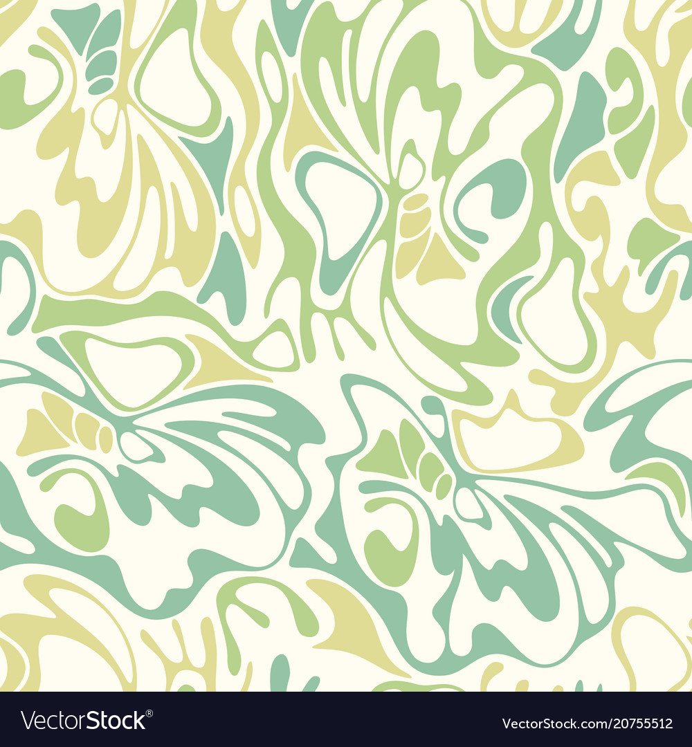 Color hand-drawing wave sunny background gradient