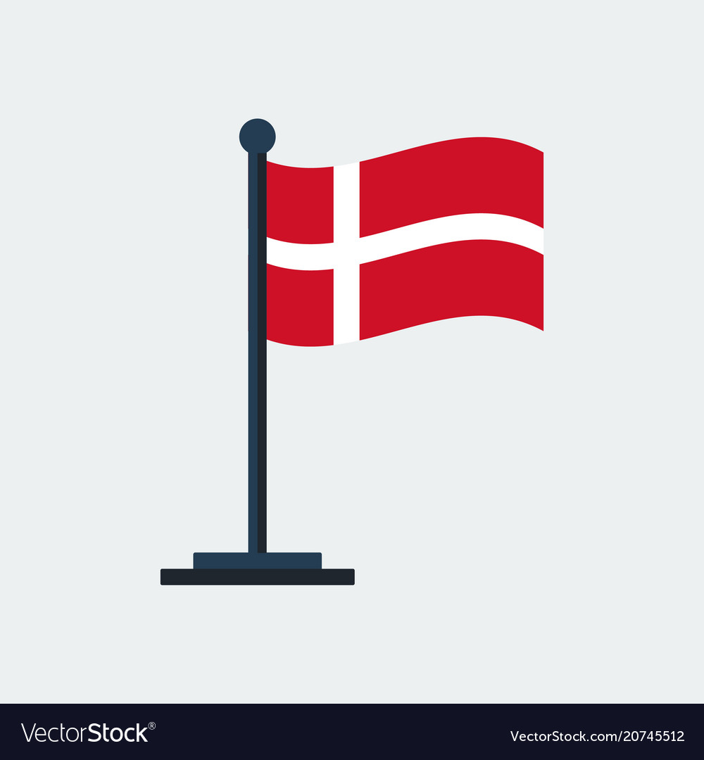 Flag of denmarkflag stand