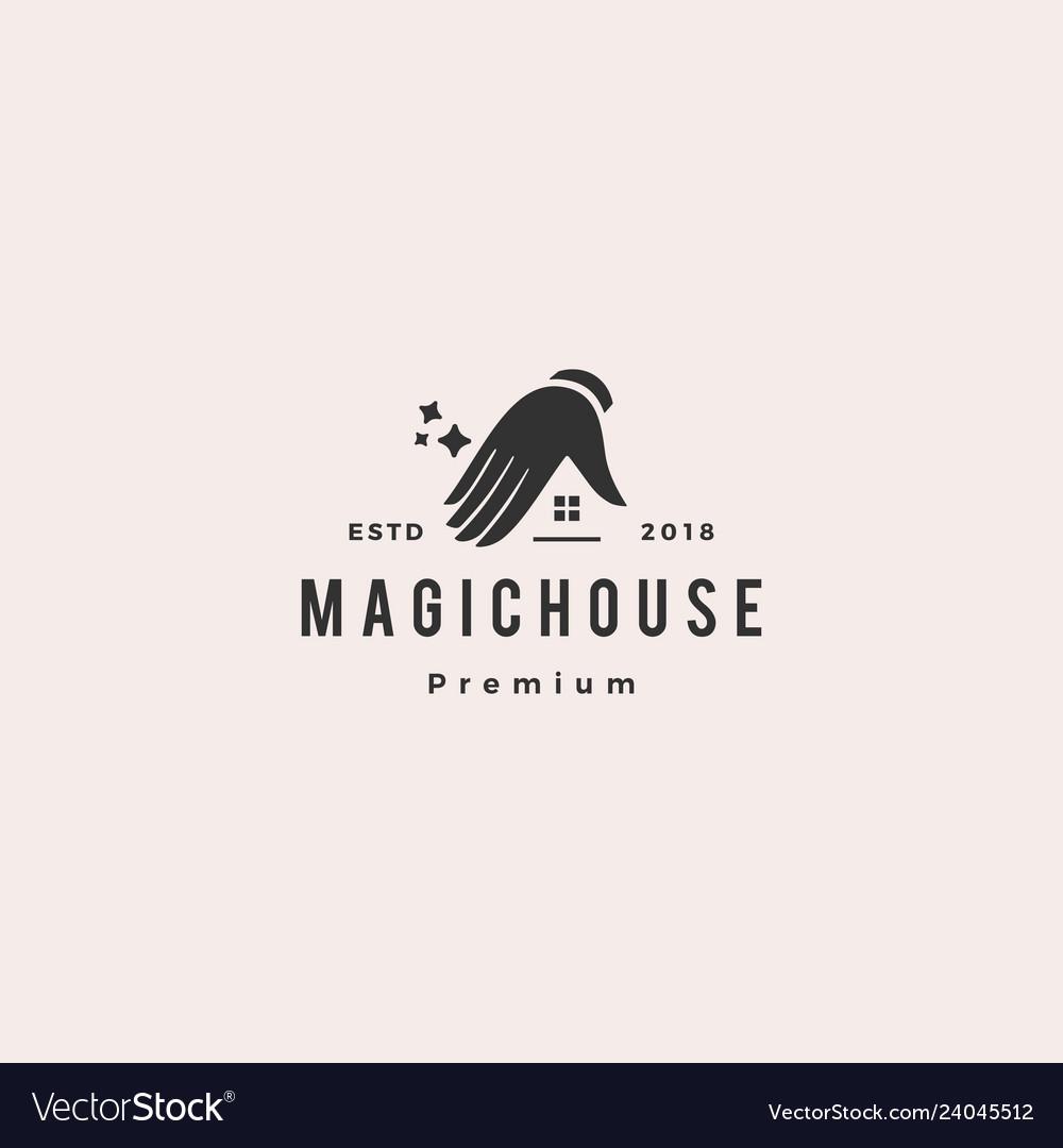 Magic house logo icon