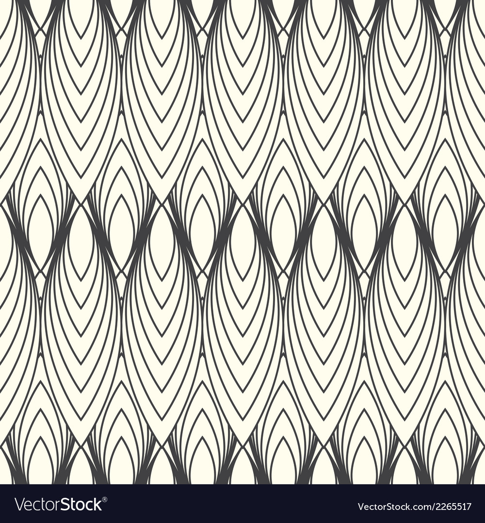 Monochrome abstract pattern