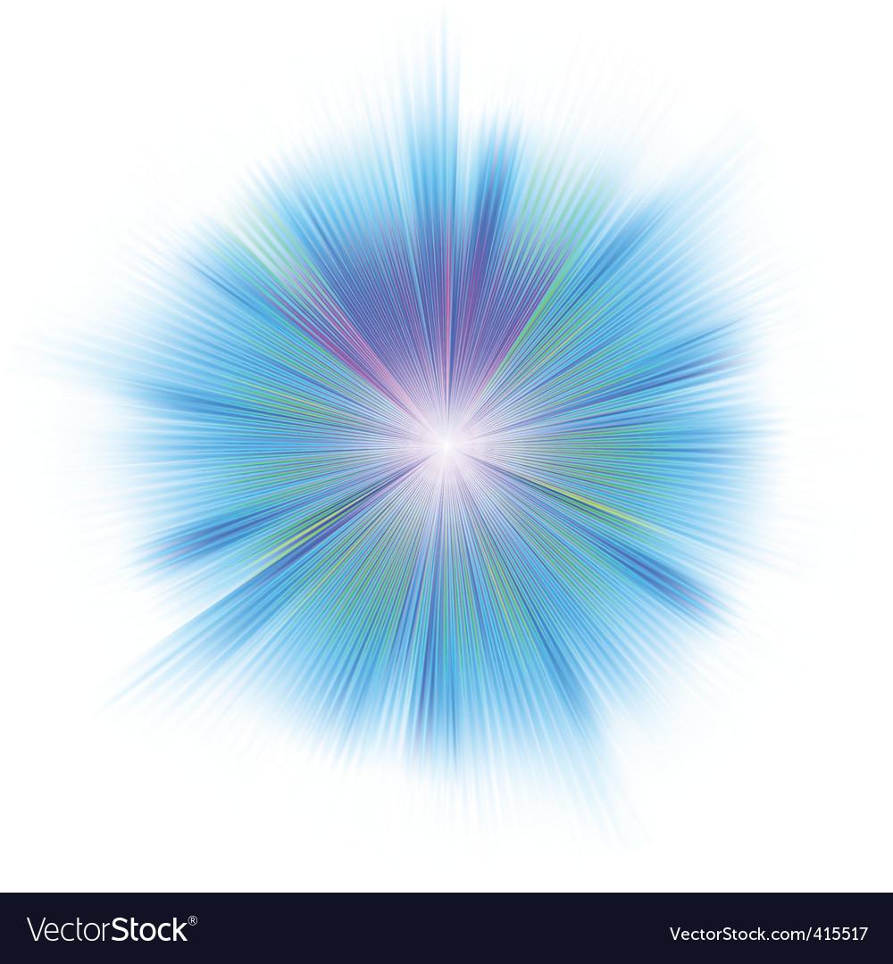 Shiny star vector image