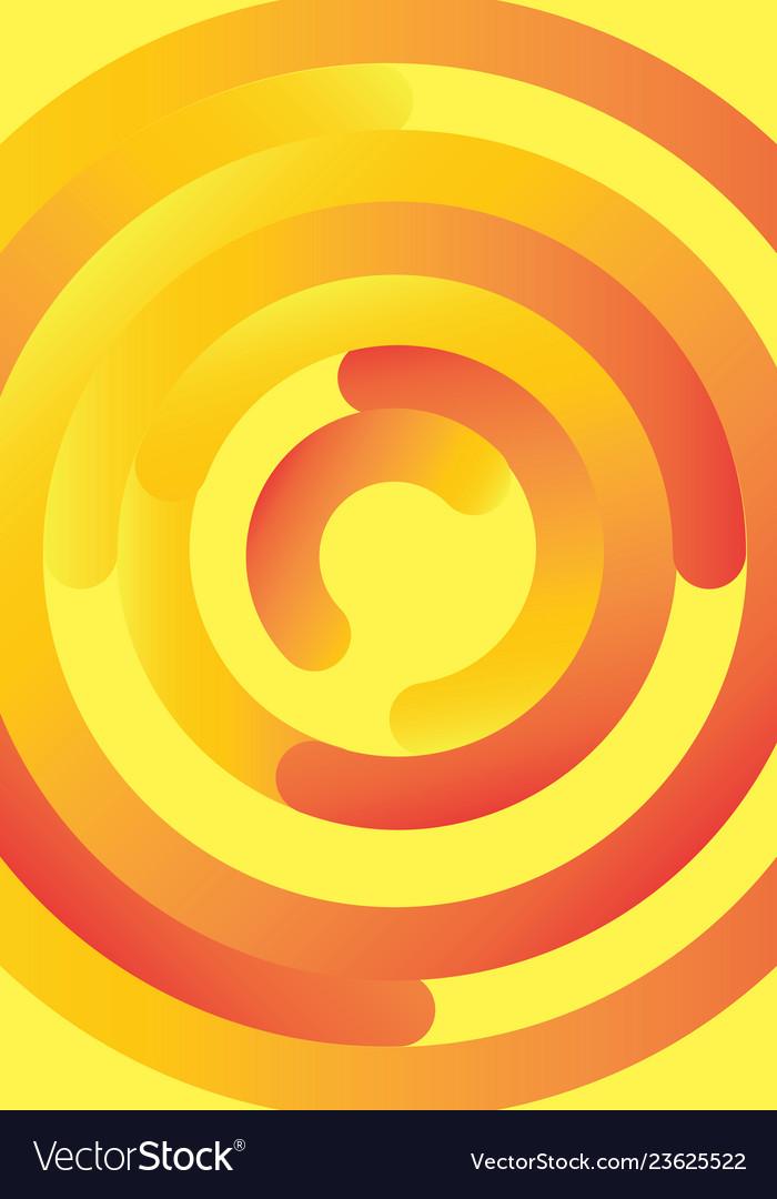 Abstract circles design lines design