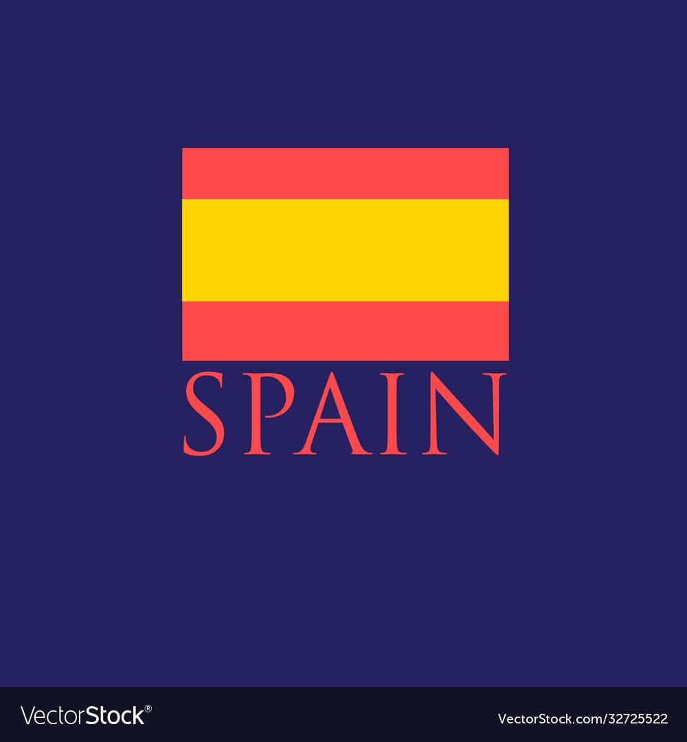 Icon with spanish flag