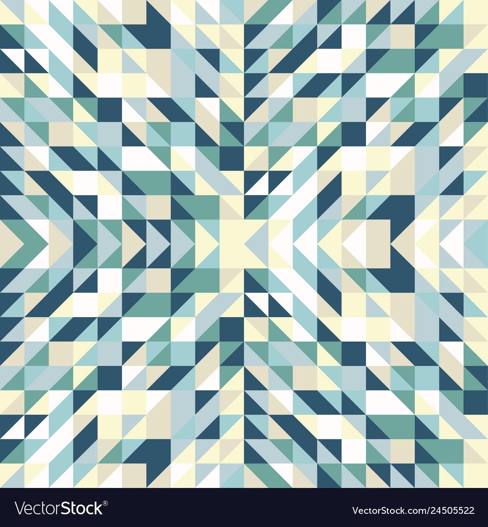 Seamless geometric triangle pattern abstract