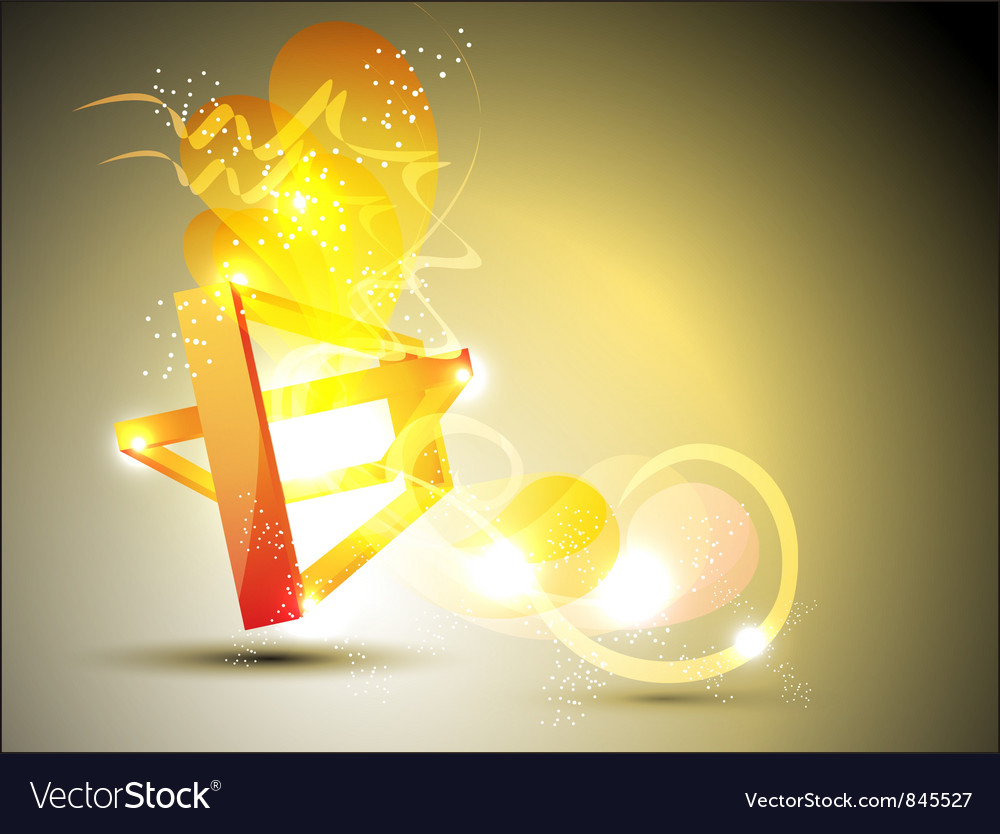Abstract figure background vector image