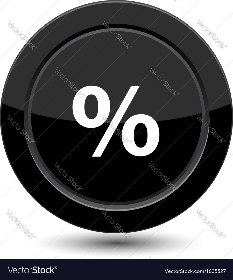Button with percent