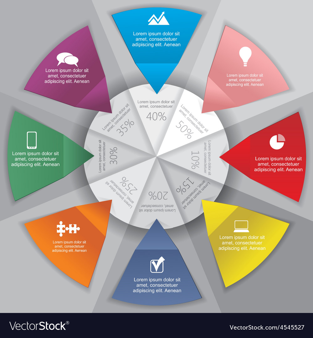 Infographic design template with elements and