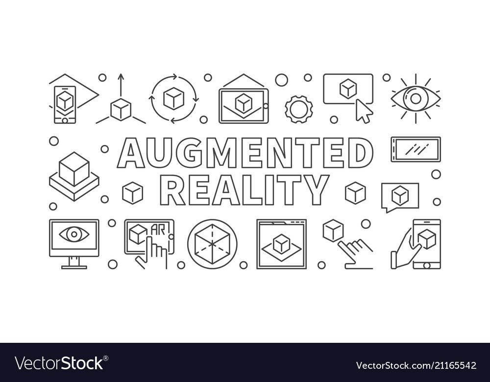 Augmented reality horizontal