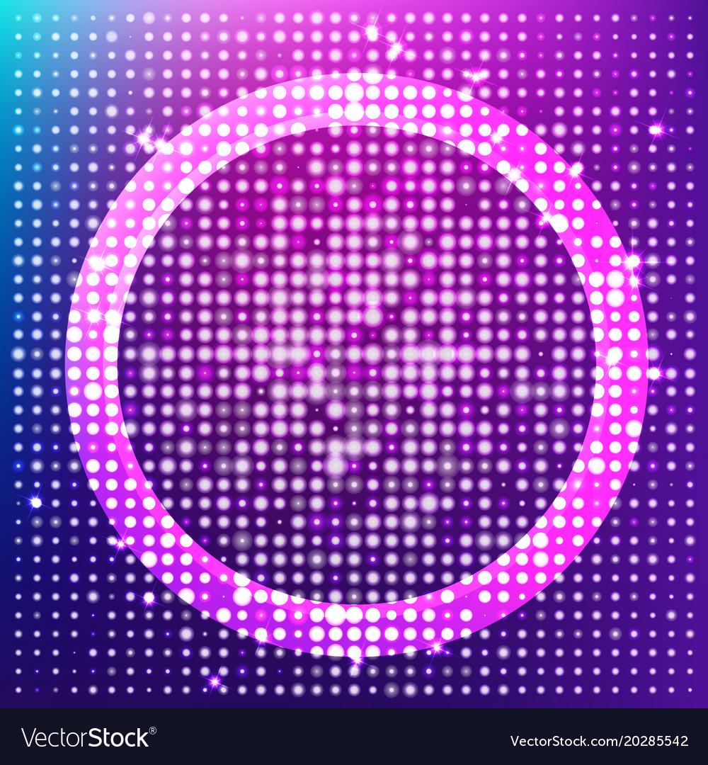 Radiant halftone background