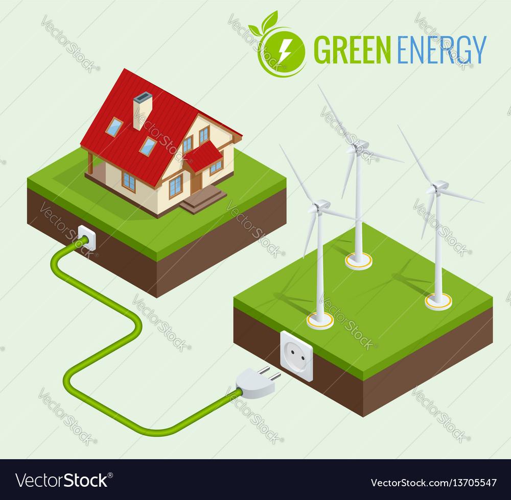 Alternative green energy or green house concept
