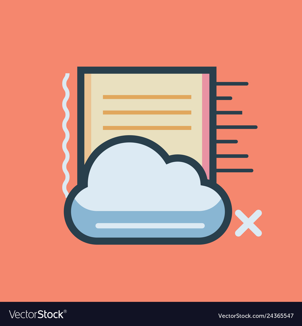 Cloud data icon set of great flat icons use for