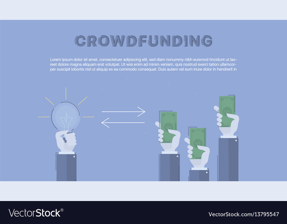 Crowdfunding concept business