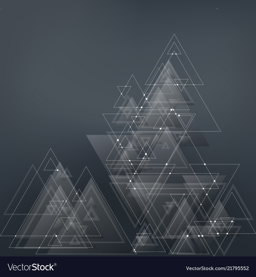 Abstract polygonal low poly background with