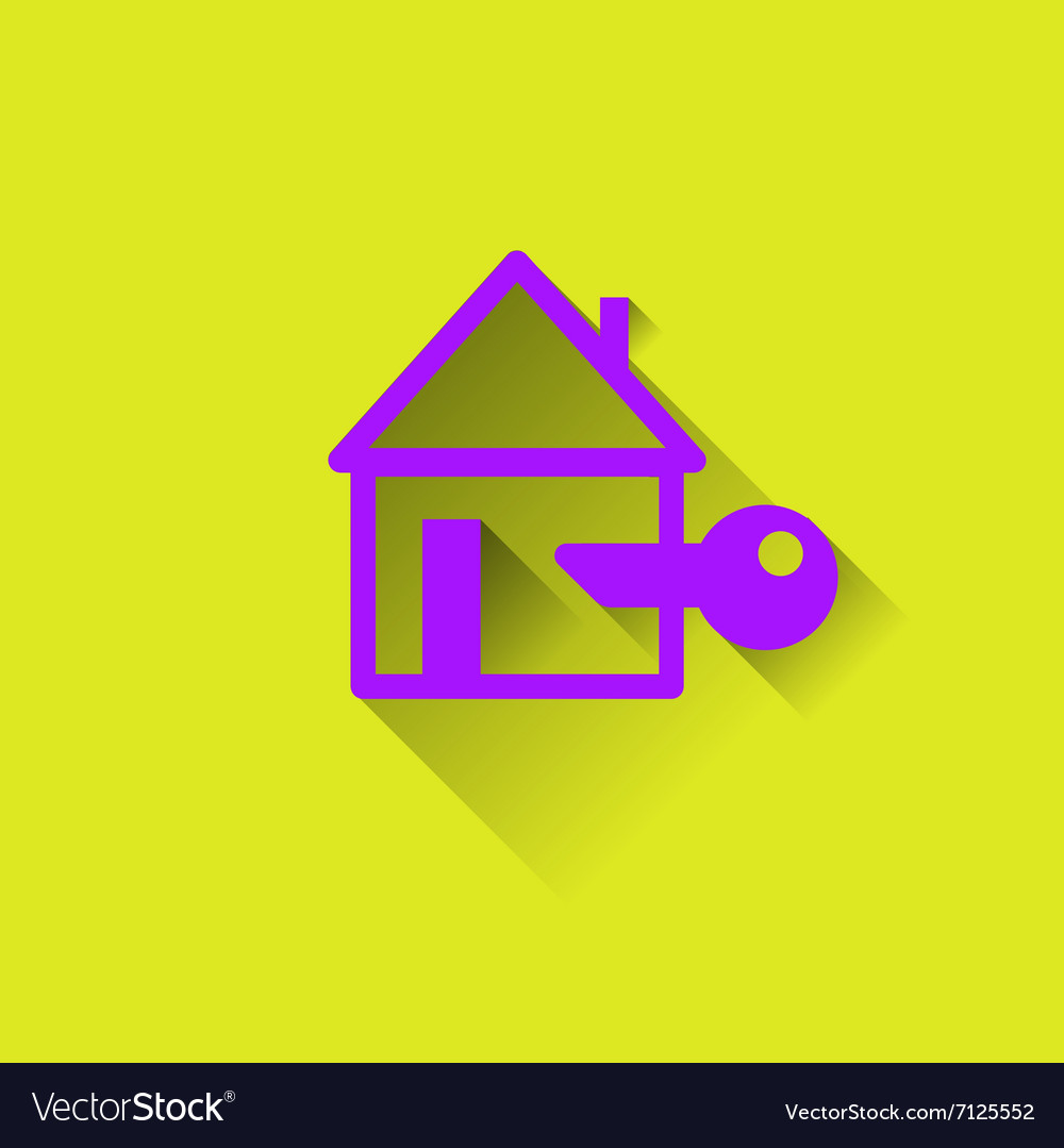 Logo of the House Protection housing vector image