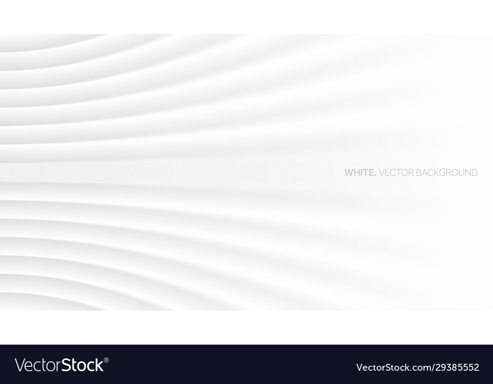 Minimalist white abstract background 3d