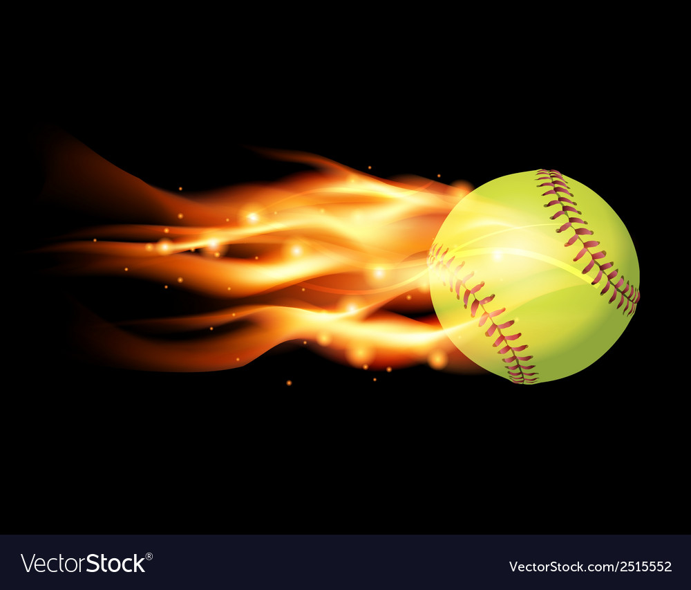 Softball on Fire