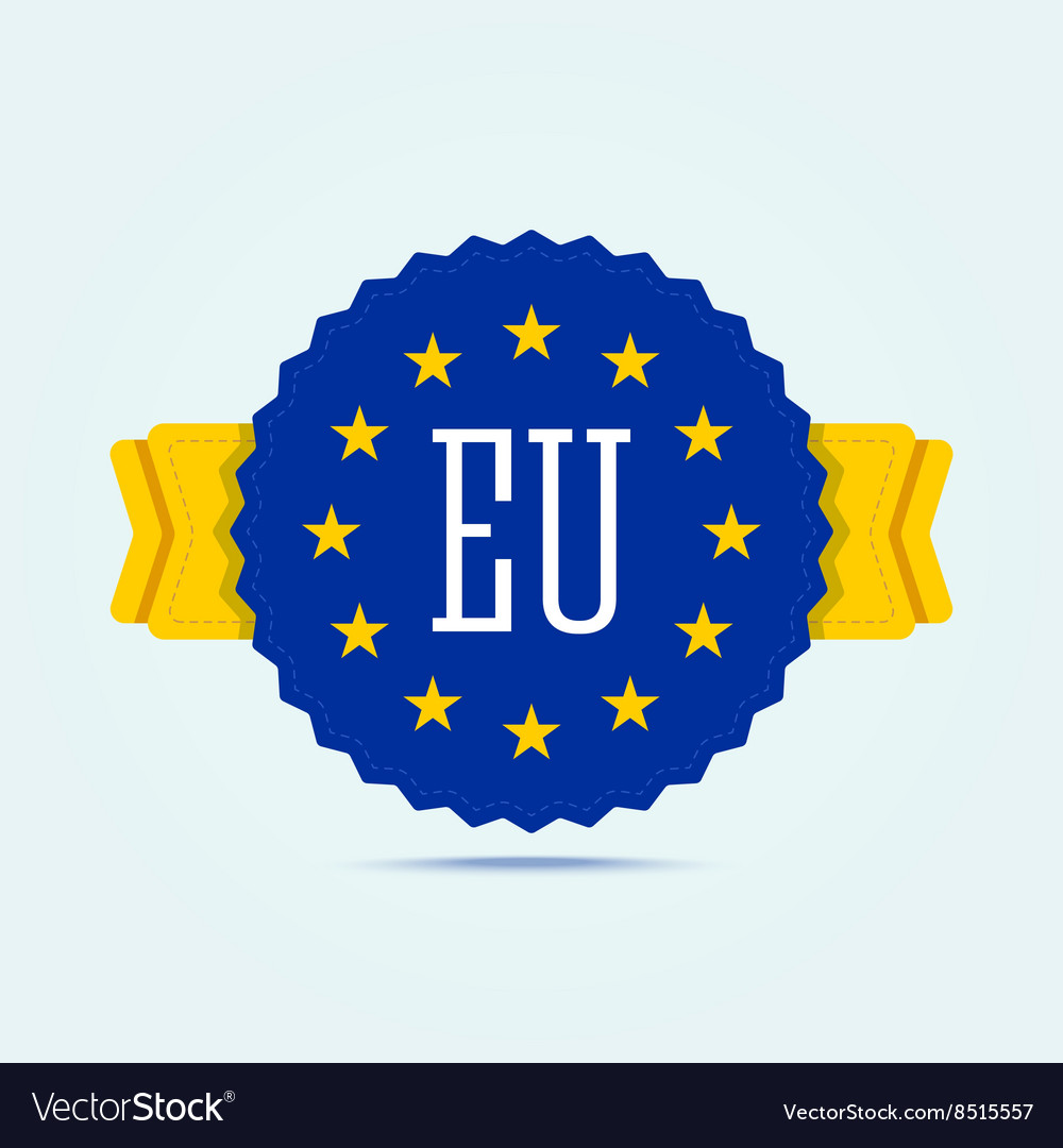 European union badge