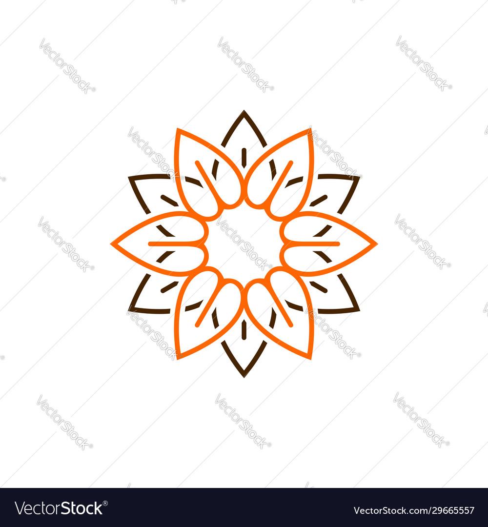 10 Petal Flower Template from cdn3.vectorstock.com