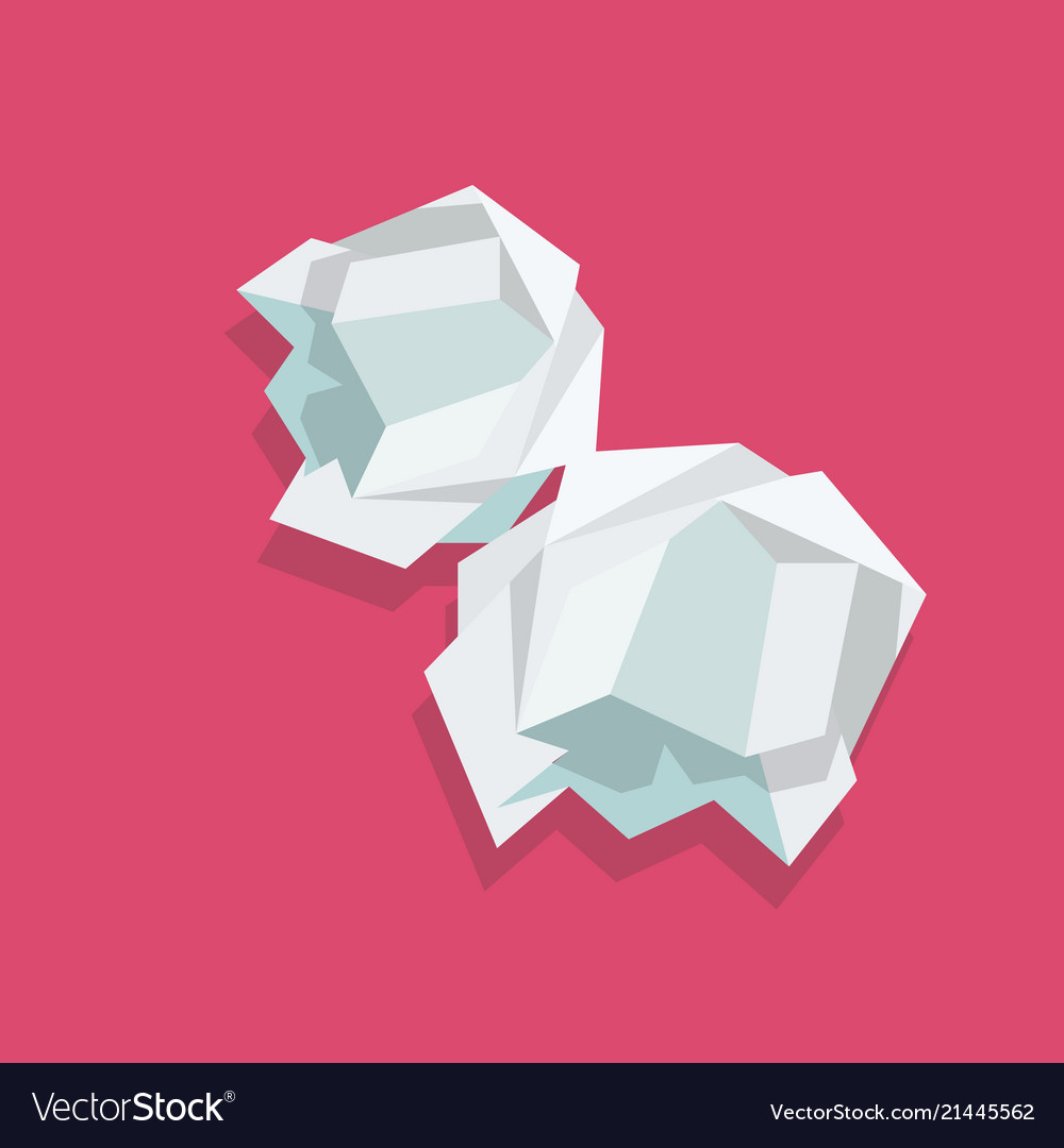 crumpled paper ball royalty free vector image - vectorstock