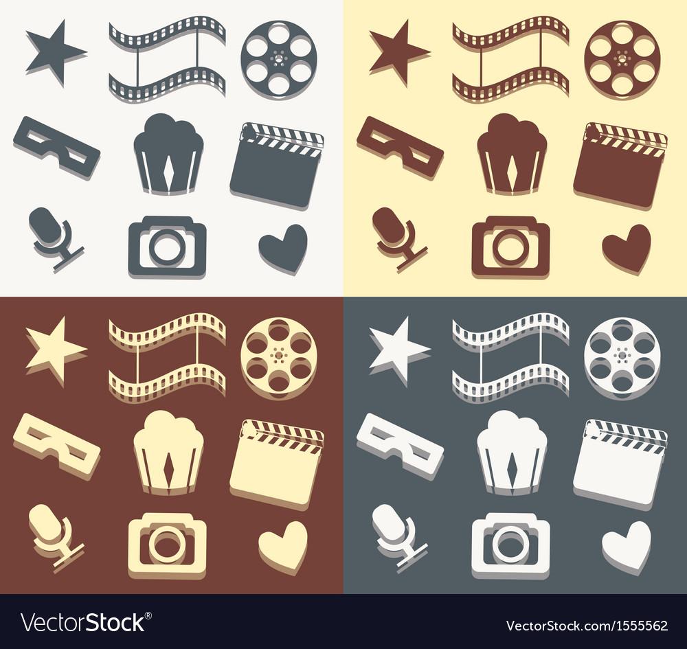 Simple cinema patterns