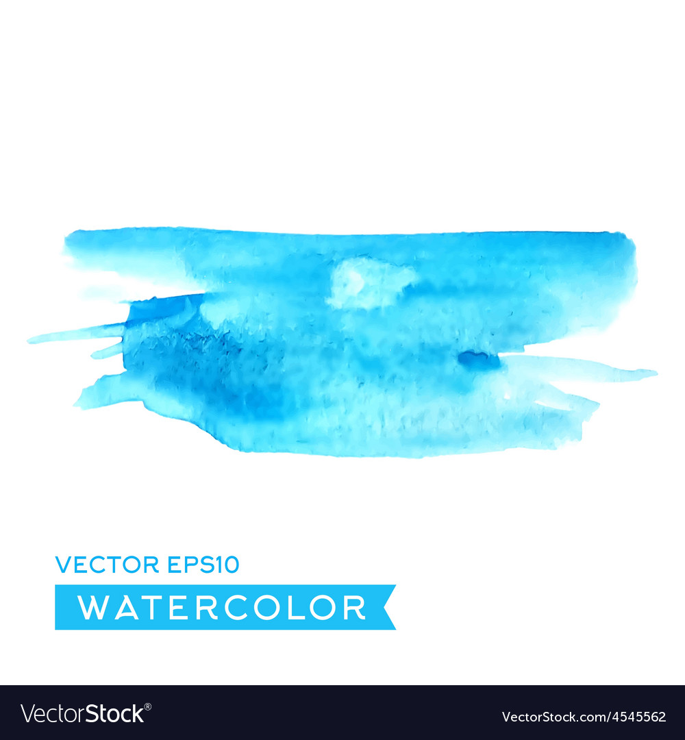 Watercolor abstract drawing high quality vector image