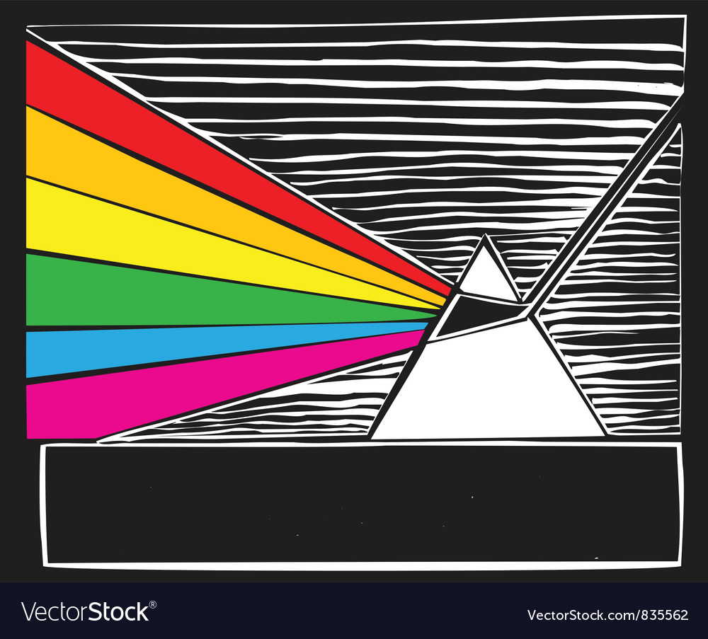 Woodcut Prism