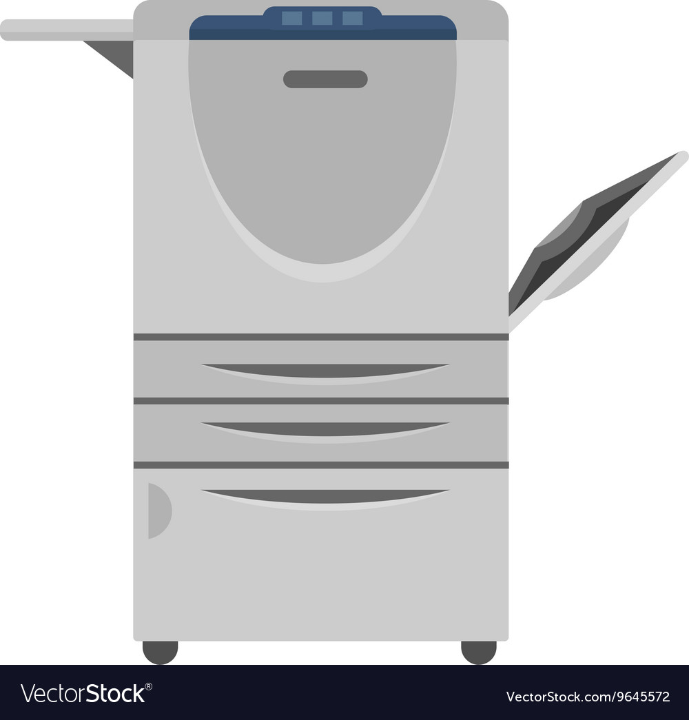 Copy machine vector image