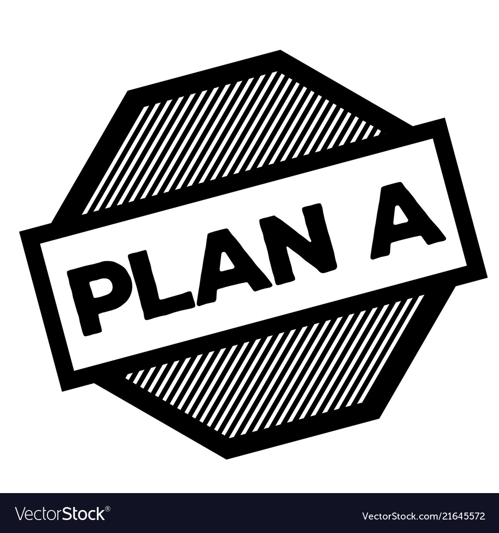Plan a black stamp vector image on VectorStock