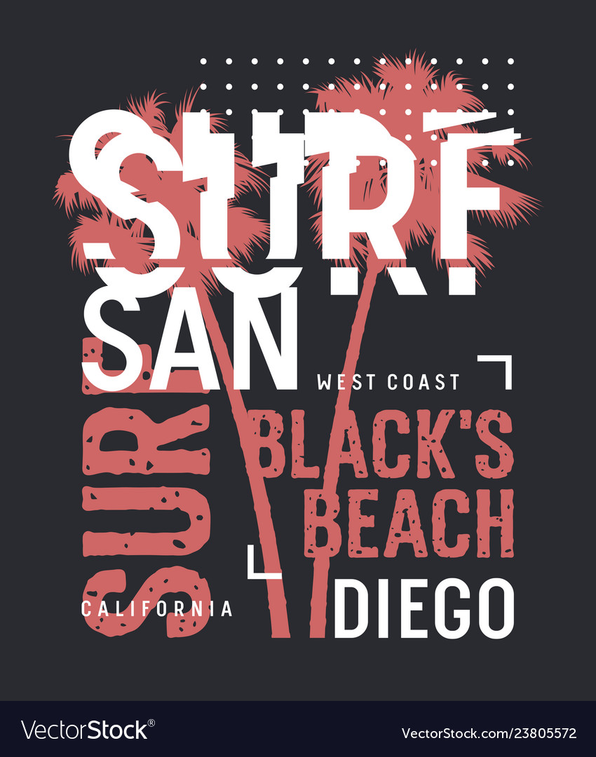 Surfing print 023