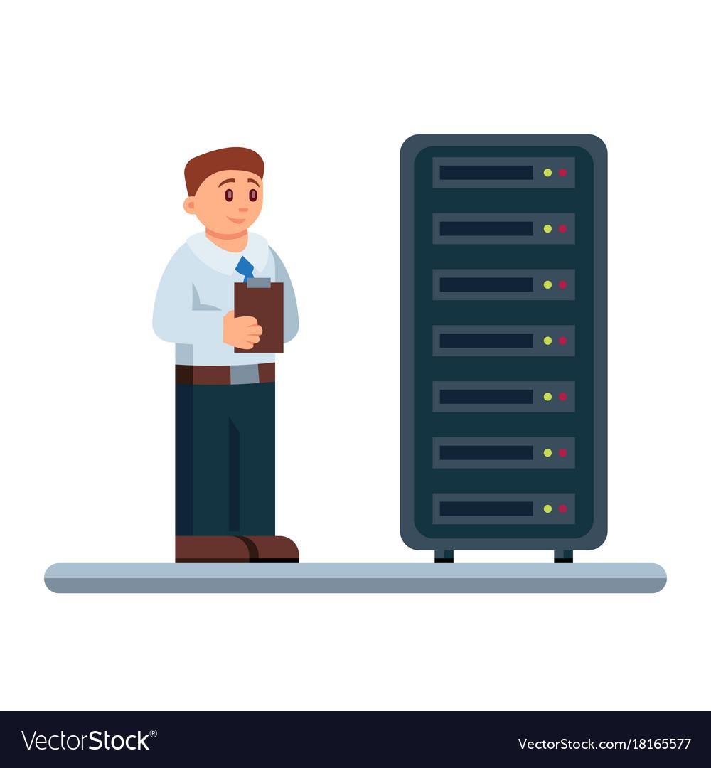 Flat of network engineer