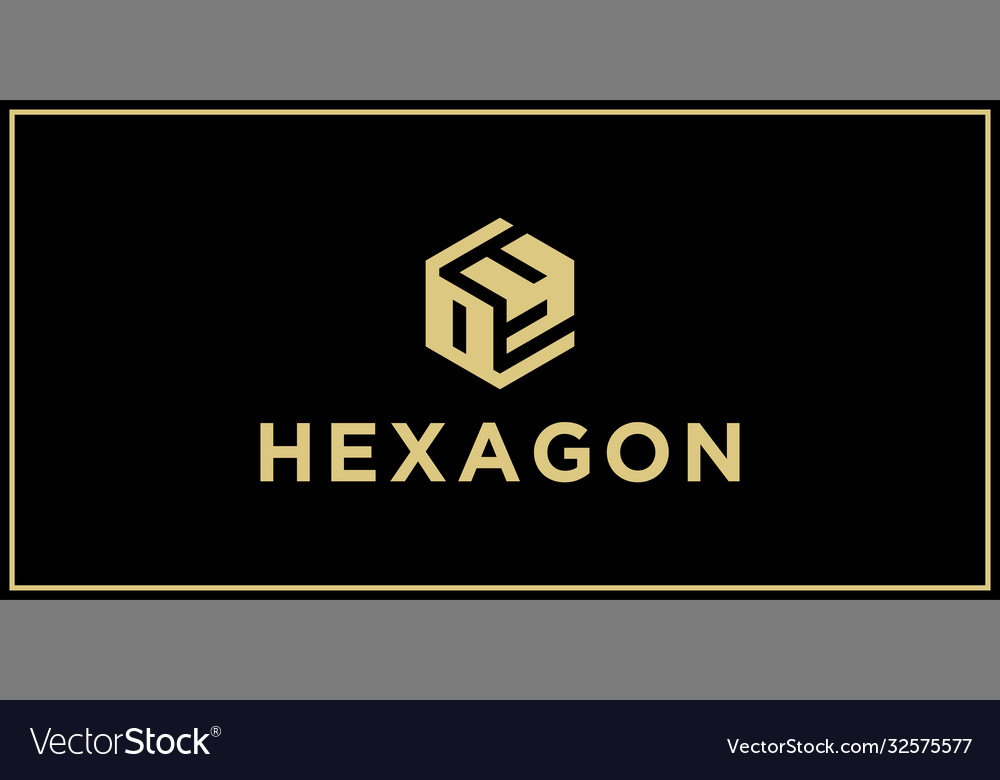 Oy hexagon logo design inspiration