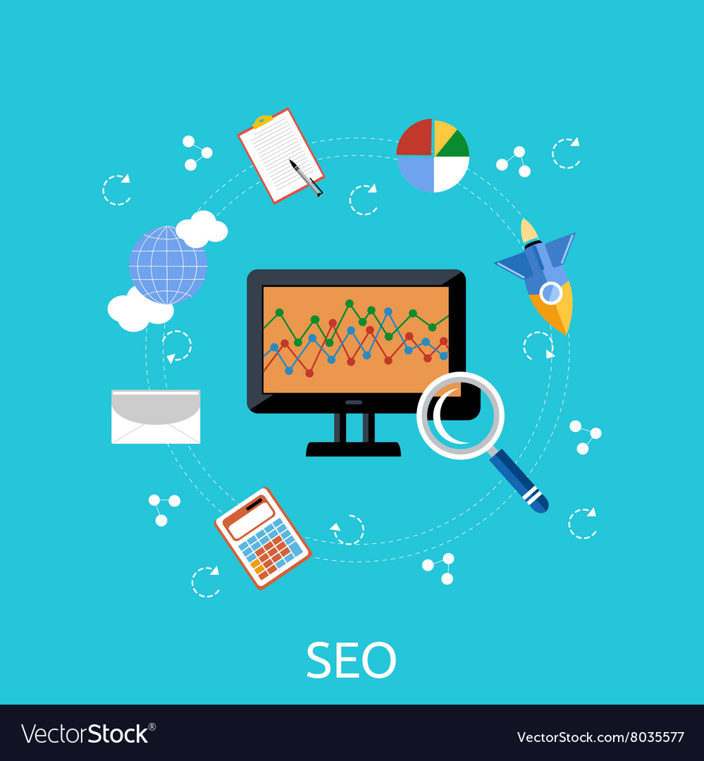 SEO Icons Poster