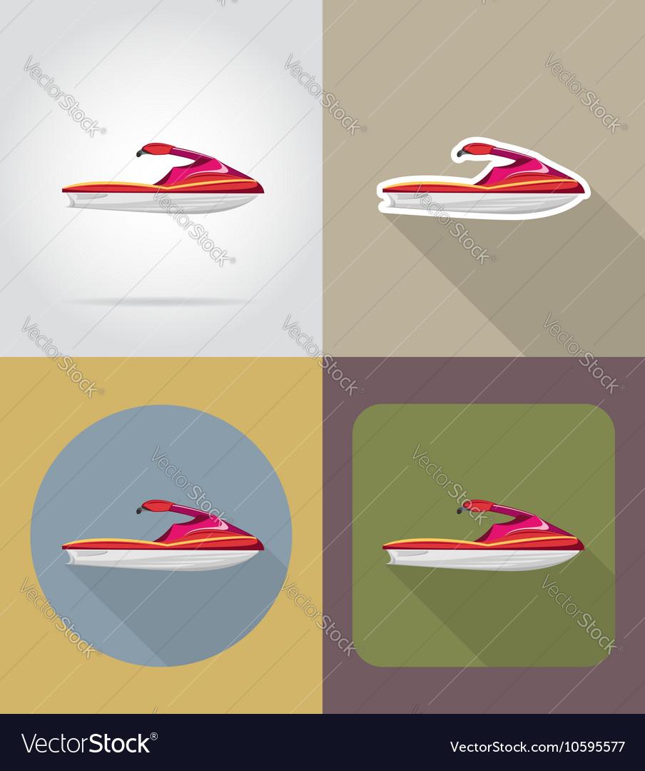 Transport flat icons 61