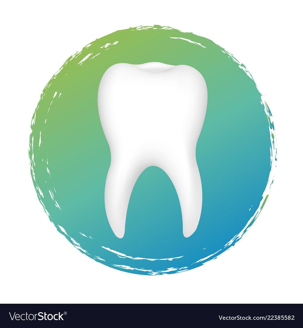 Dental Clinic Logo Royalty Free Vector Image Vectorstock