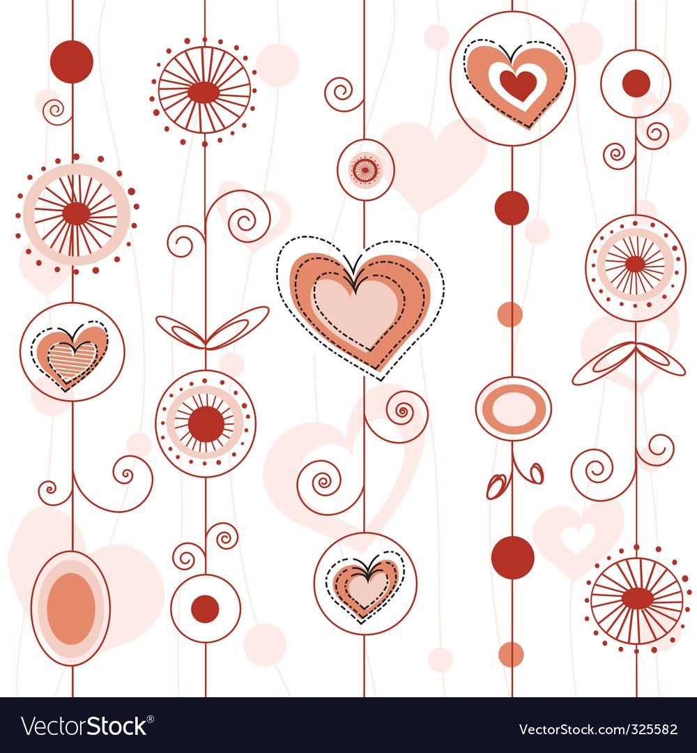 Love concept pattern