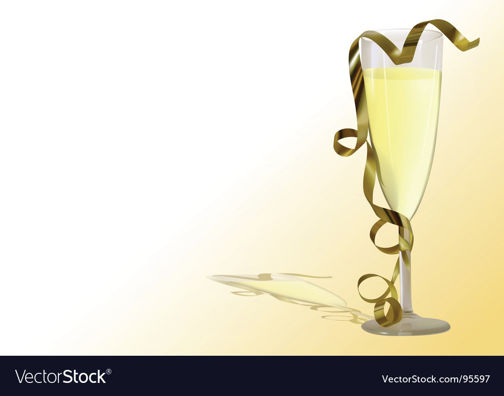 champagne toast royalty free vector image vectorstock
