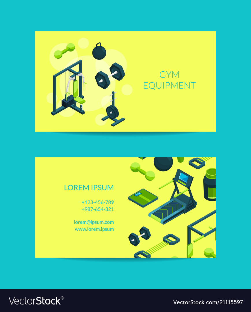 Isometric gym objects for gym
