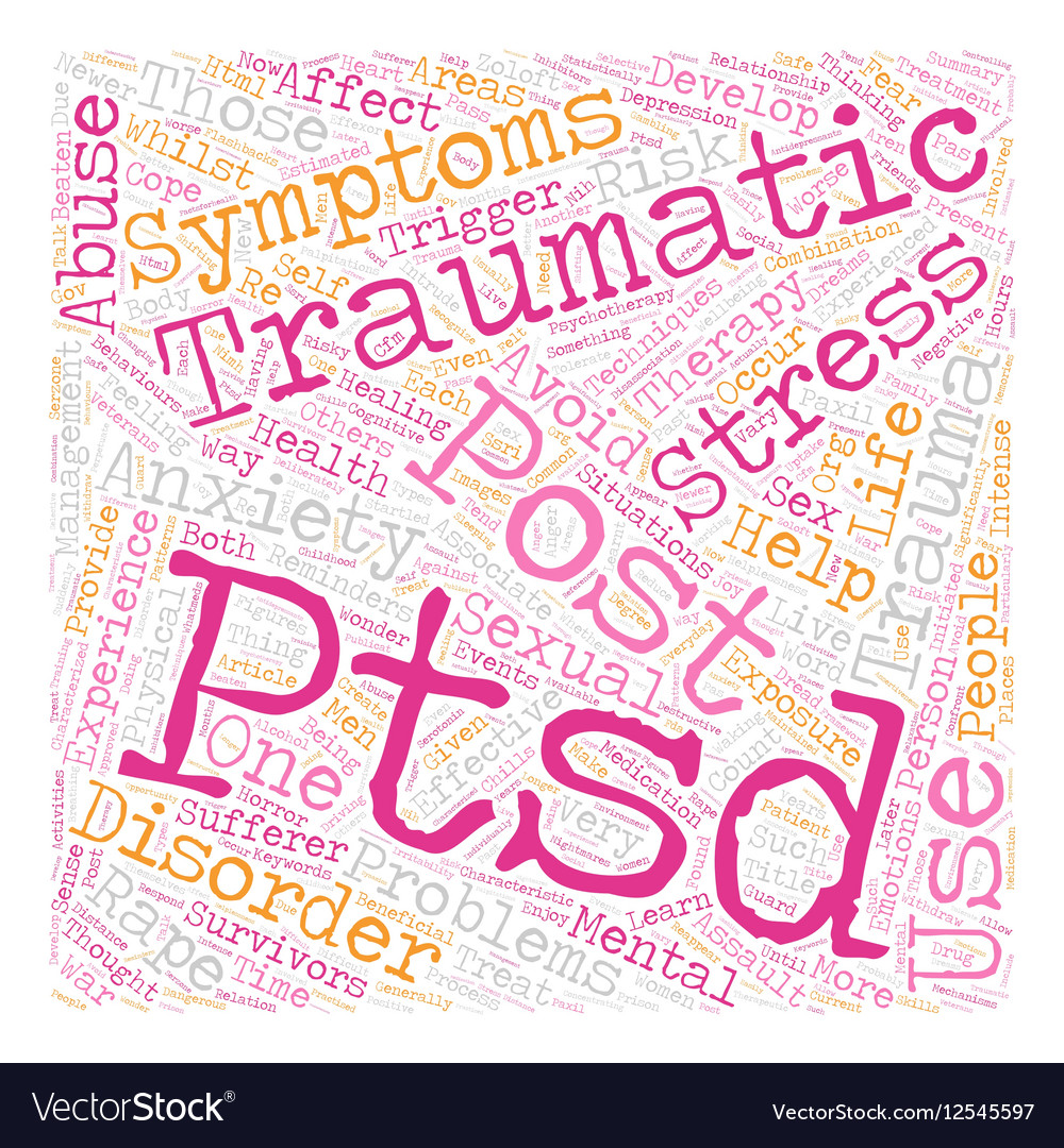 Sexual post traumatic stress syndrome