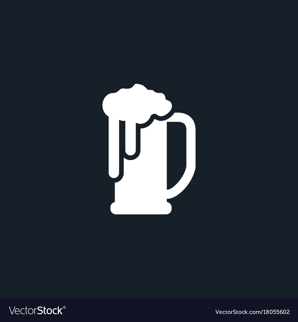 Beer icon simple