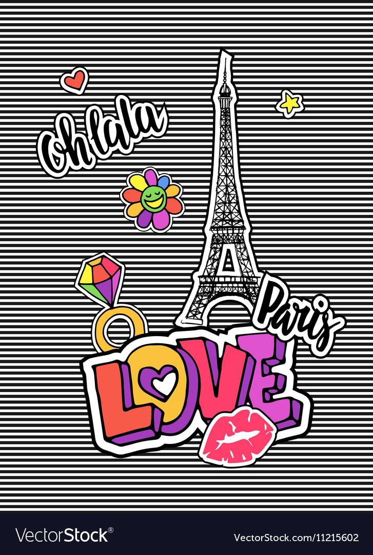 Cute fashion chic t-shirt design background
