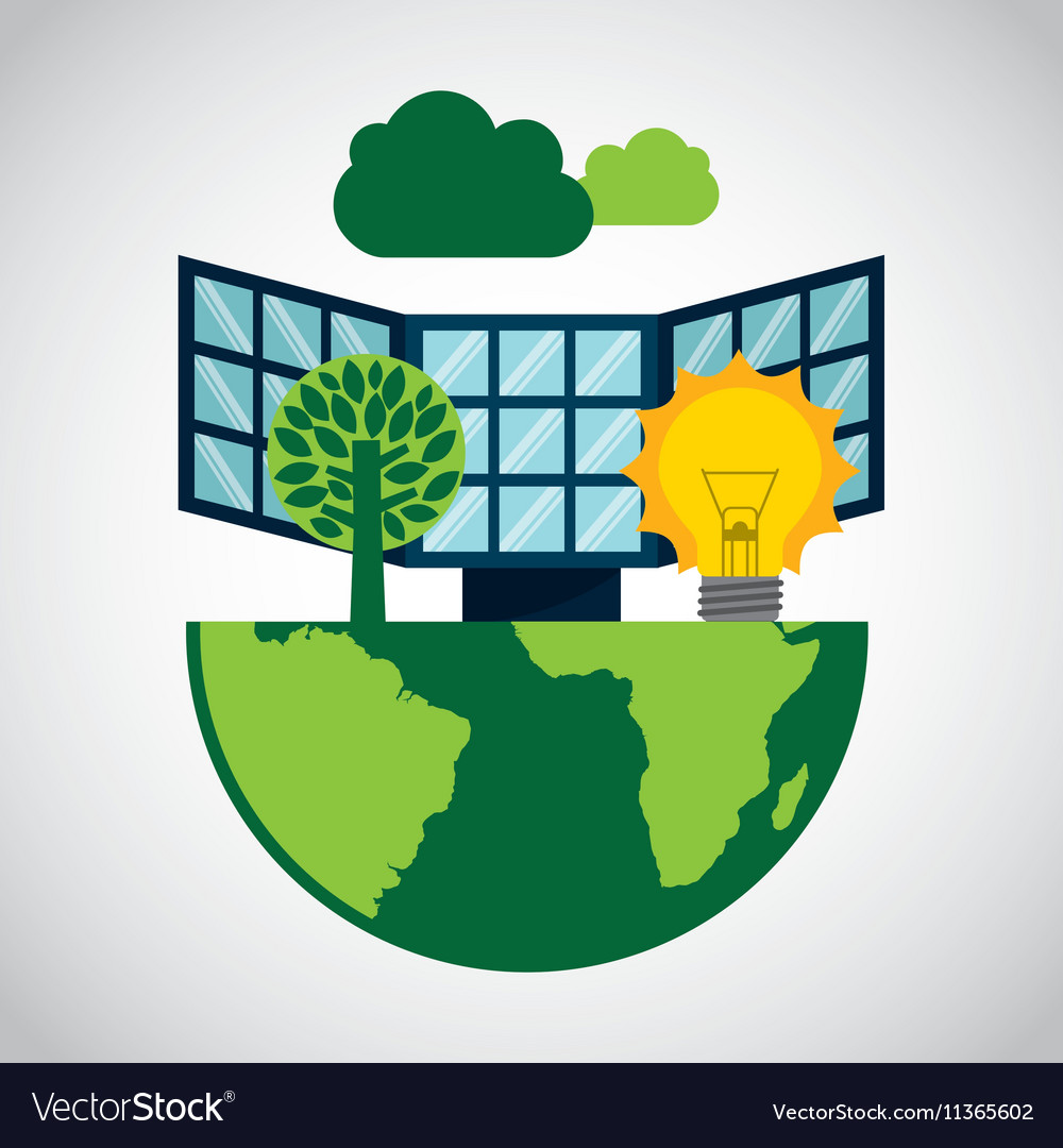 Ecological alternative energy green